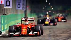 Singapore saw a dominating performance by Vettel and Ferrari that took everyone by surprise. Photo by Clive Mason/Getty Images