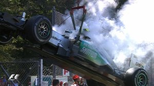 "The decision to turn up Rosberg's ""second-hand"" engine might turn out to have cost him more than just race points. Photo source: BBC"